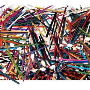 Impresión digital-lápiz color y aguafuerte-plegado, 60x180cm, 2013