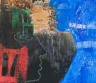 DOS DESCONOCIDAS CON UN SECRETO<br /> Giclée y lápiz color<br /> 84 x 70 cms<br /> 2011