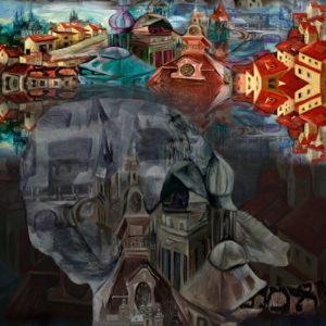 EL GOLEM DE PRAGA, Impresión digital 100 x 70cm 2008