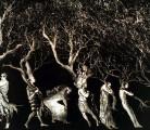 EN CAMINO<br /> Aguafuerte aguatinta<br /> 42x64 cm<br /> 2001