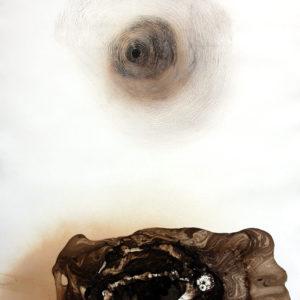 EN EL FONDO DEL LABERINTO, Monocopia, 120x80cm, 2010