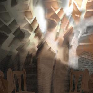 LA DECISION, Giclée 100 X 70 cm 2008