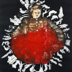 MI MUÑECA, SOLO UNA, Colección Museo Judio HUC NY,    Aguafuerte aguatinta, 99x70cm, 2004