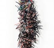 ORIGEN<br /> Gicleé- aguafuerte<br /> 143 x 55 cm<br /> 2012