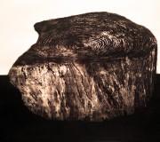 SILENCIOSA PRESENCIA<br /> Aguafuerte-aguatinta<br /> 50 x 60 cm<br /> 2012