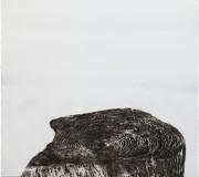 SILENCIOSA PRESENCIA<br /> Aguafuerte-aguatinta<br /> 100 x 59 cm<br /> 2012