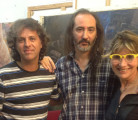 CLAUDIO CUKIER Y ERNESTO ROMEO<br /> Preparando el video