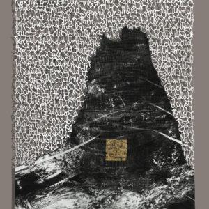 ORIGEN DE LA XENOFOBIA –, Litografía sobre caucho calado a mano, 96x78cm, 2017