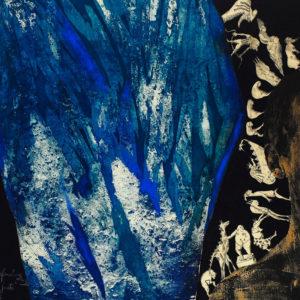 LOT EL JUSTO, Aguafuerte aguatinta, 68x80cm, 2002